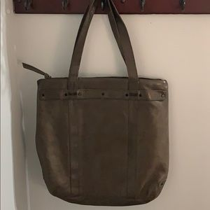 Allsaints leather tote bag